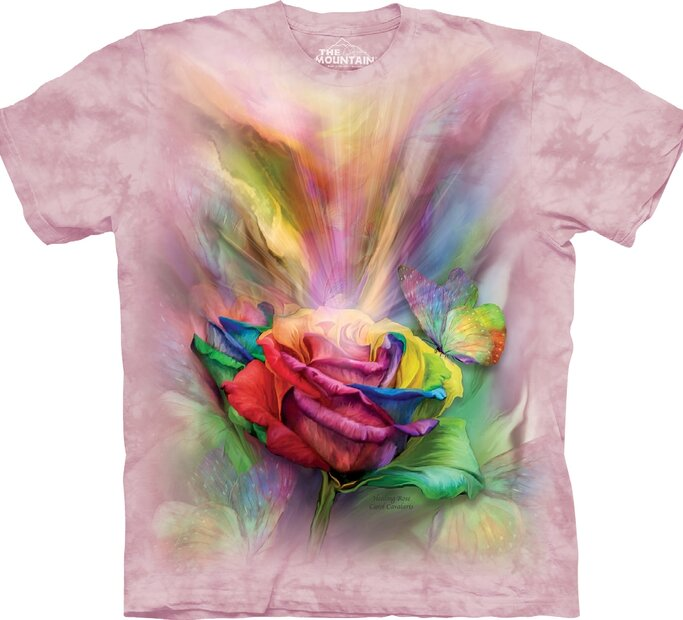 T-shirt Colourful Rose