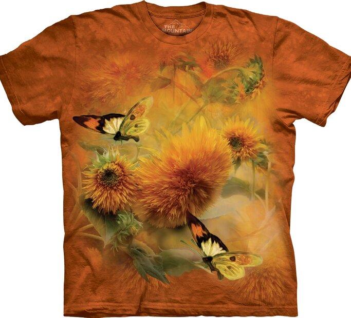 T-shirt Butterflies and Dandelion