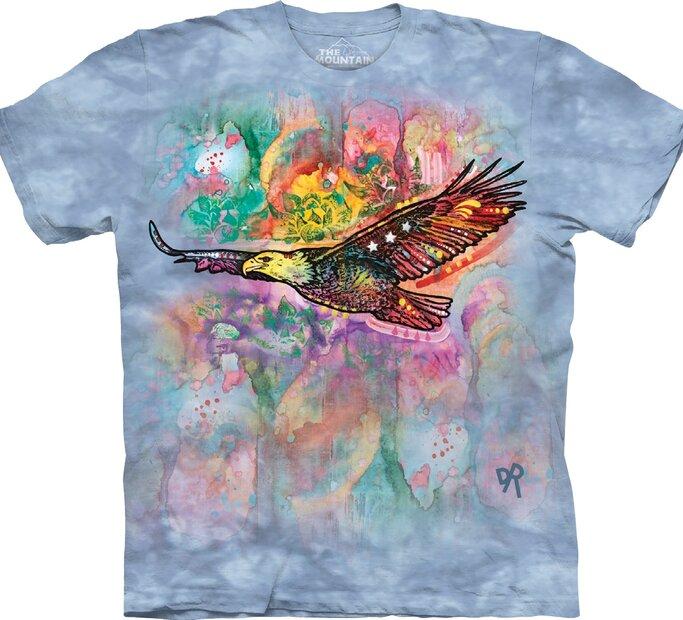 Tricou Vulturul colorat