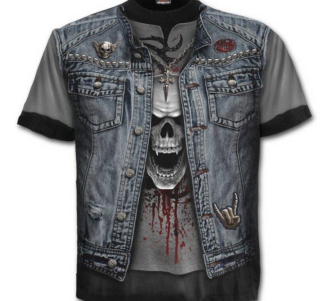 Tričko Riflová vesta