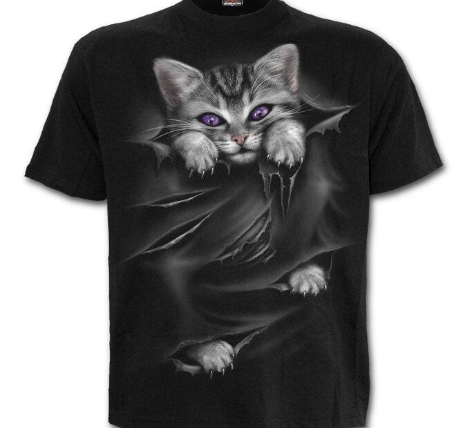 Tričko Mačacie pazúriky