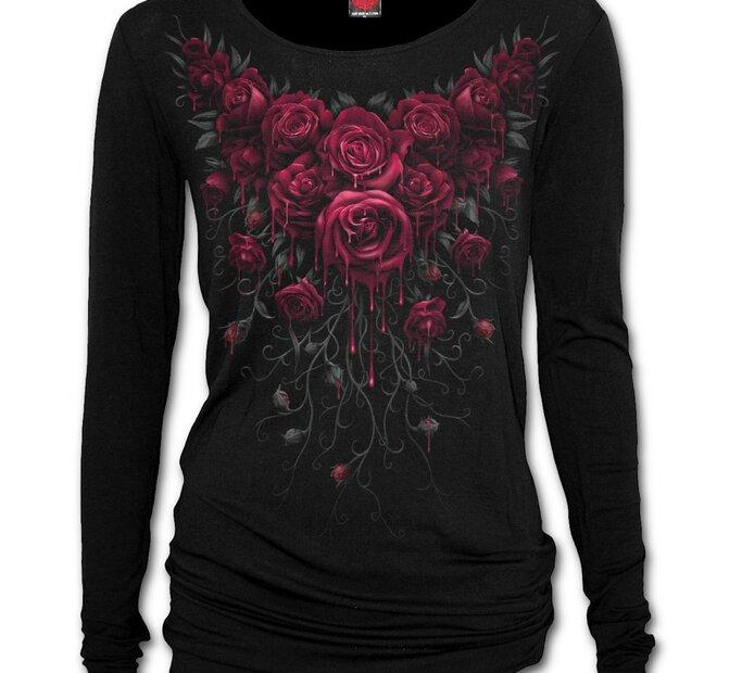 Dámske tričko Krvavé ruže