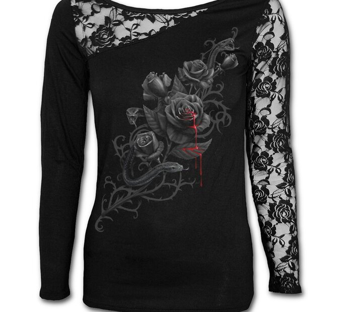 Ladies' Lace T-shirt Rosary