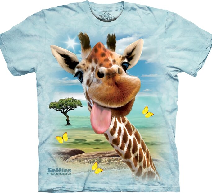 Tričko Žirafa s jazykom - detské