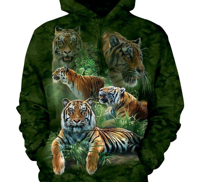 Sweatshirt Peaceful Tiger