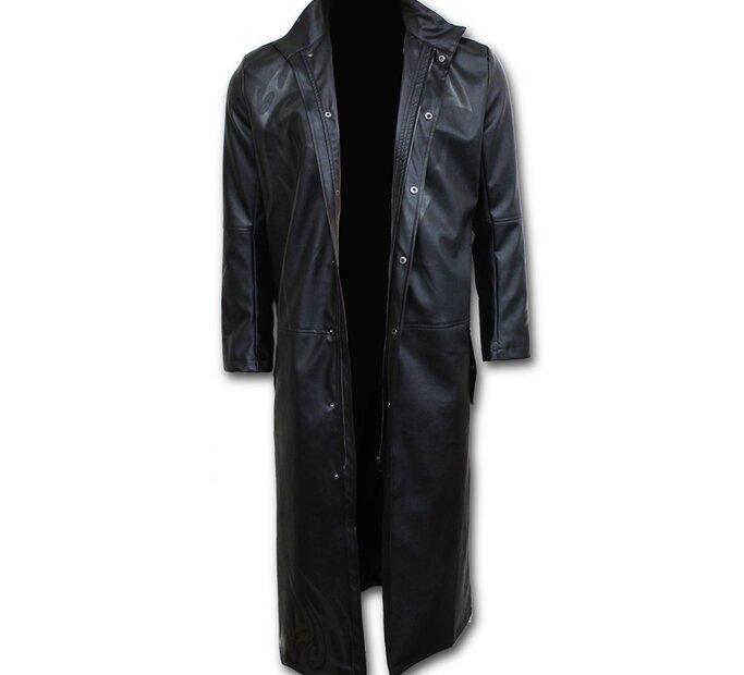 Pánsky Kabát s motívom Nahnevaný panter