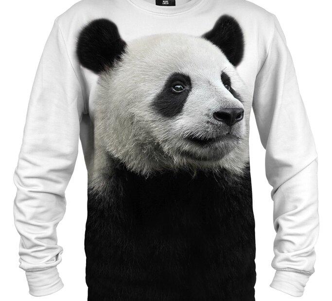 Mikina bez kapucne Pohľad pandy