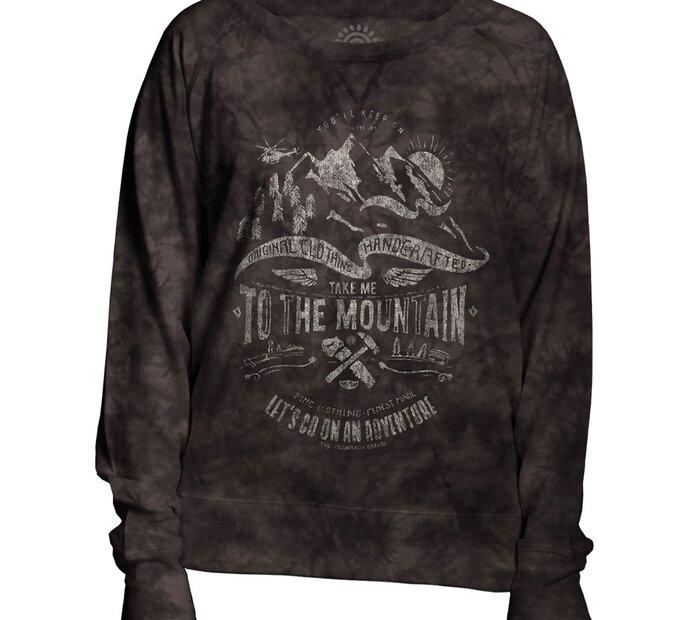 Ladies' Grey Sweatshirt Adventure