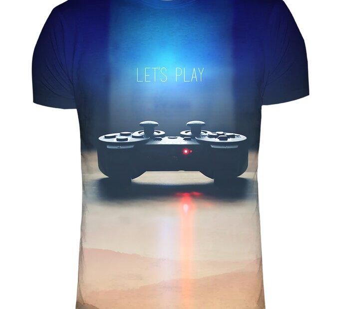 T-Shirt mit kurzen Ärmeln Gamer