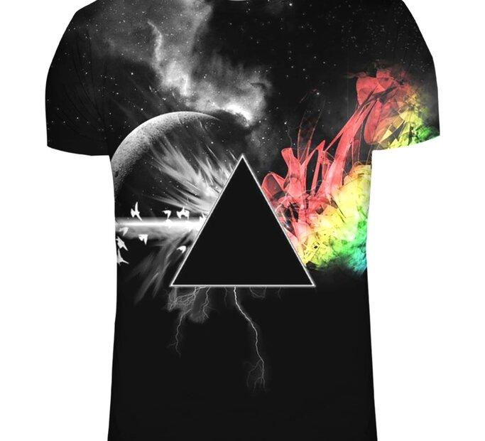 Tričko s krátkym rukávom Temná strana mesiaca