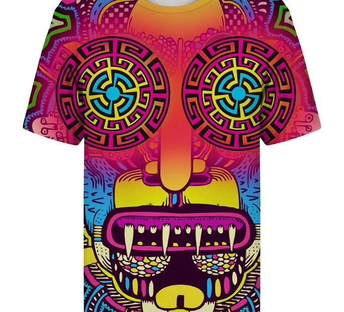 T-Shirt mit kurzen Ärmeln Totem