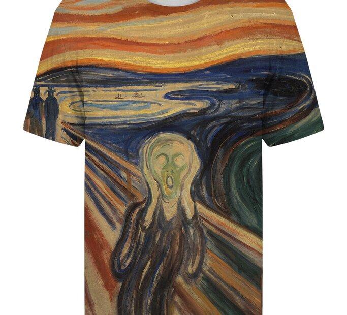 Tričko s krátkym rukávom Výkrik