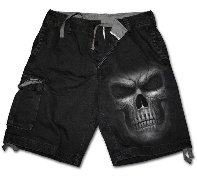 Pánske nohavice - krátke s motívom Temný pán