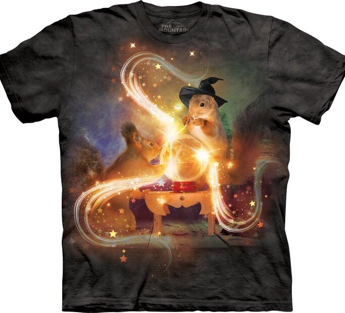Dětské tričko s krátkým rukávem Magické veverky