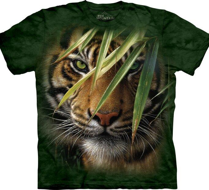 Tričko s krátkym rukávom Ukrytý tiger