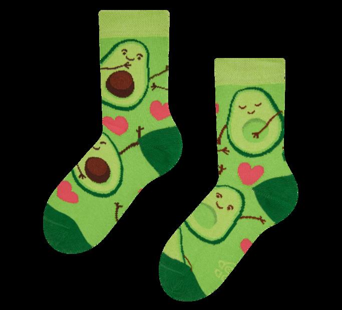 Good Mood Kids Socks Avocado Love