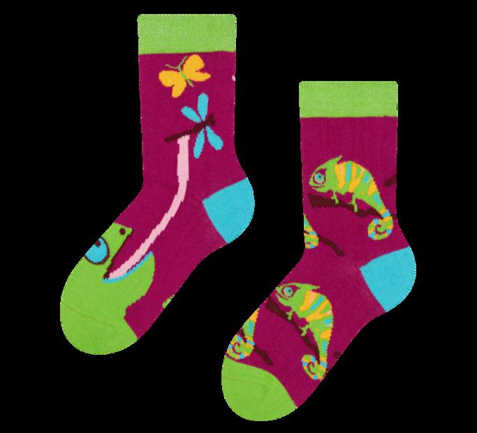 Good Mood Kids Socks Chameleon