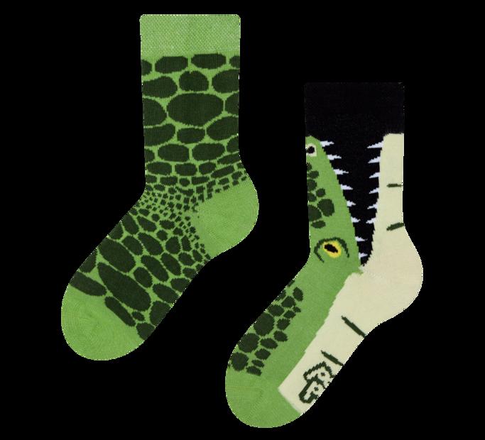 Good Mood Kids Socks Crocodile