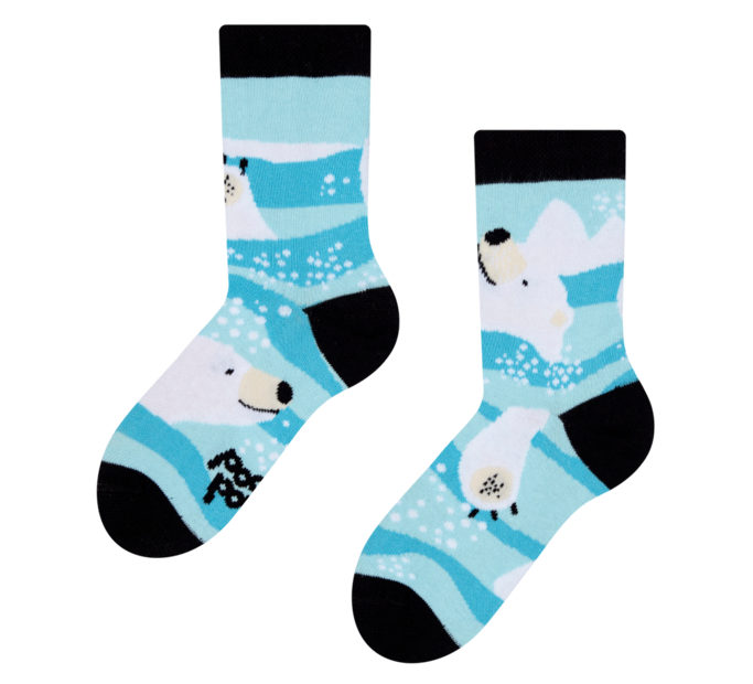Good Mood Kids Socks Polar Bear