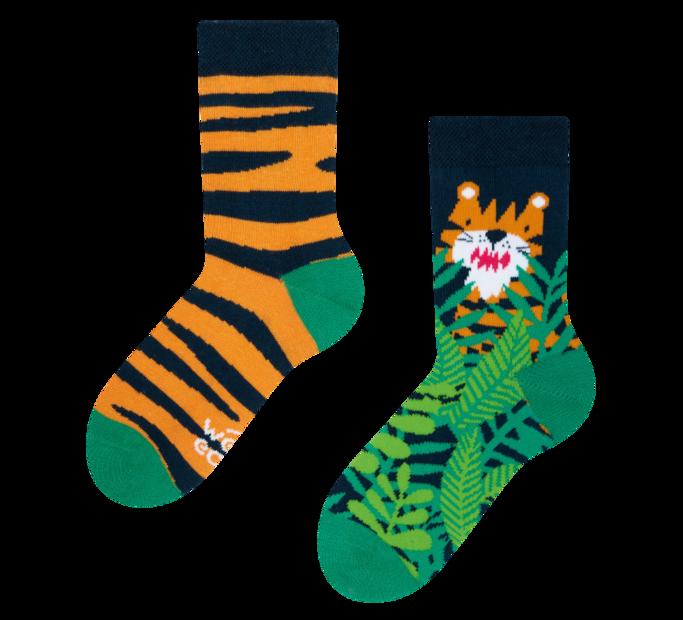 Good Mood Kids Socks Tiger