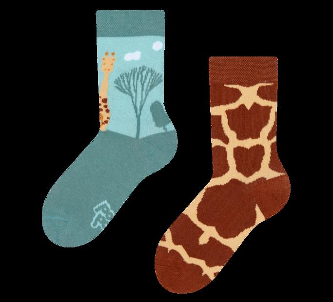 Good Mood Kids Socks Giraffe