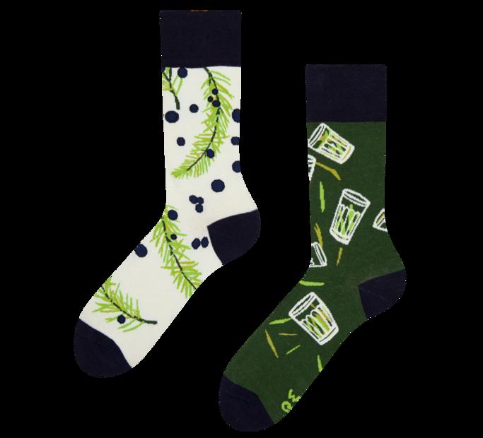 Veselé ponožky Borovička