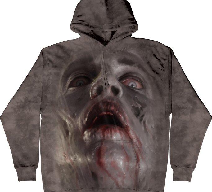 Sweatshirt mit Kapuze Zombie