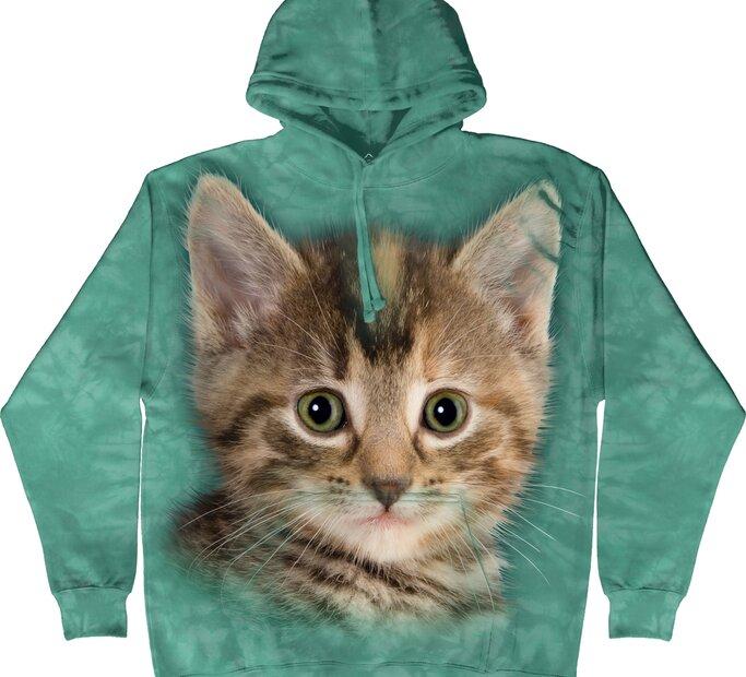 Mikina s kapucí Kotě