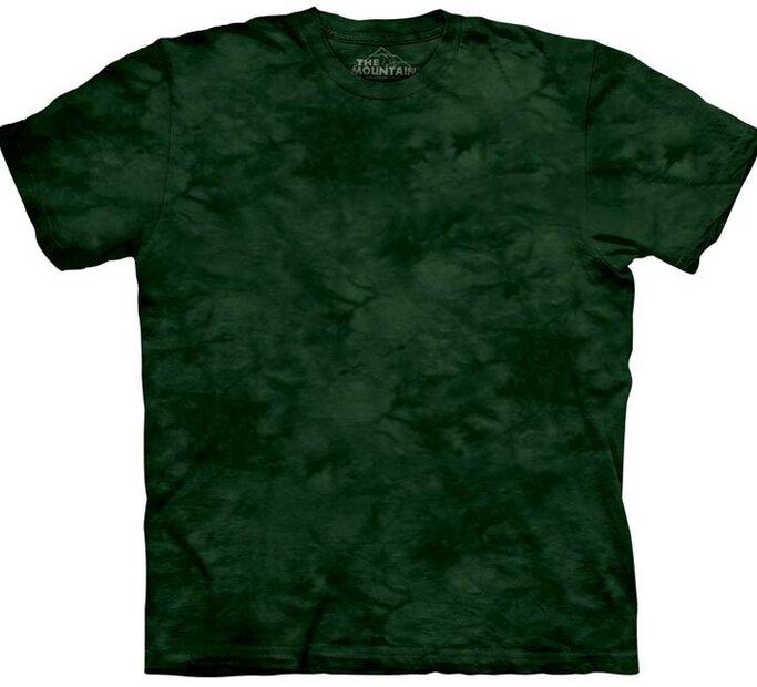 Tmavě-zelené tričko