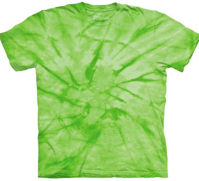 T-Shirt Spiralgrün