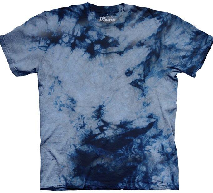 T-Shirt Grau-Blau