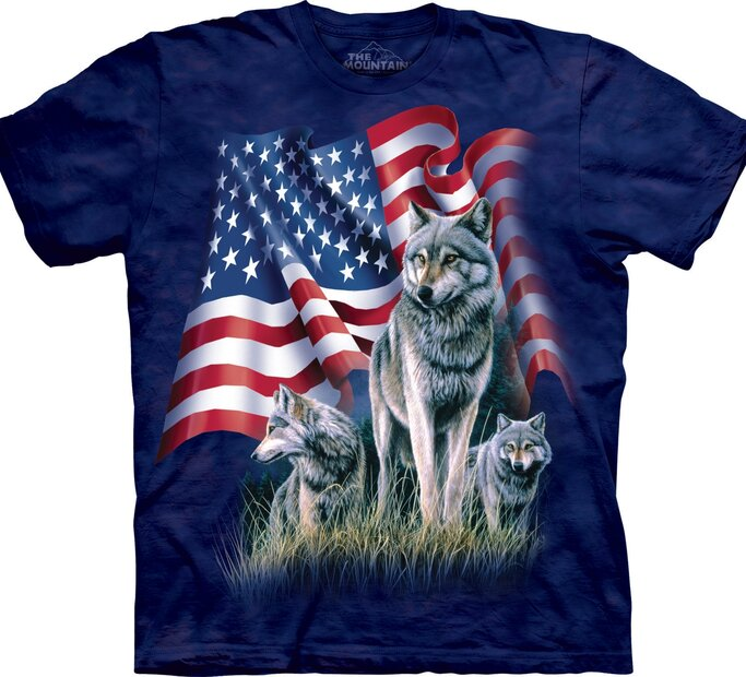 Tričko Vlčí patrioti