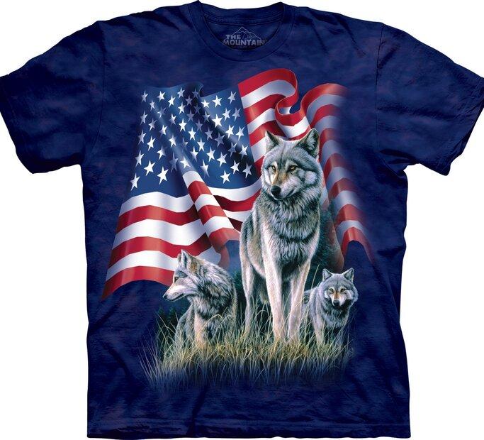 Wolf Flag Adult
