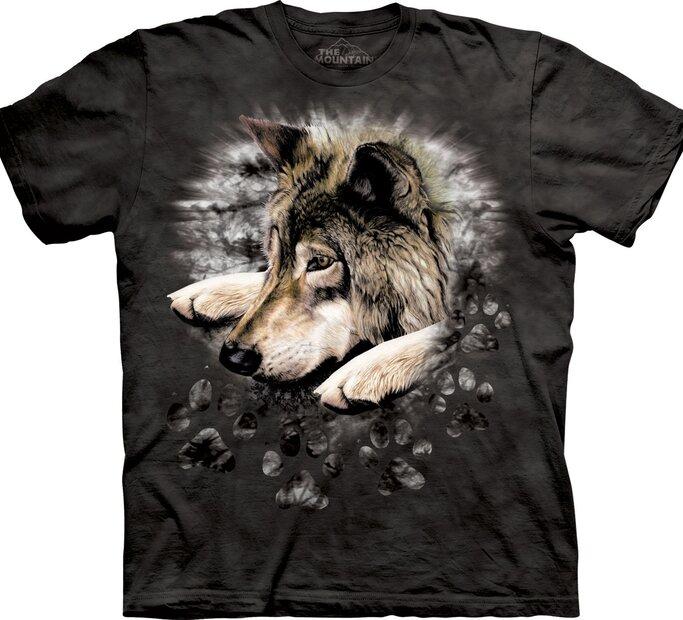Tričko Smutný vlk
