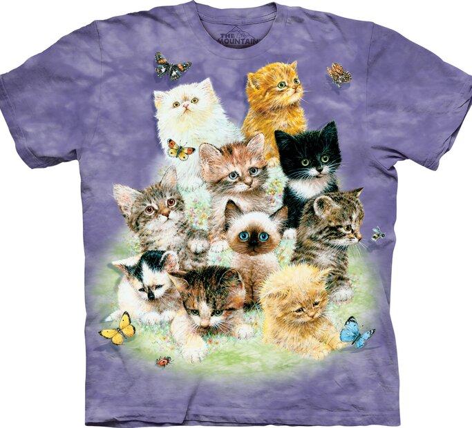 Tričko 10 hravých koťátek