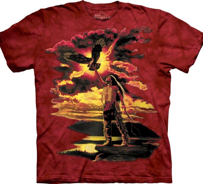 T-Shirt Der rote Indianer