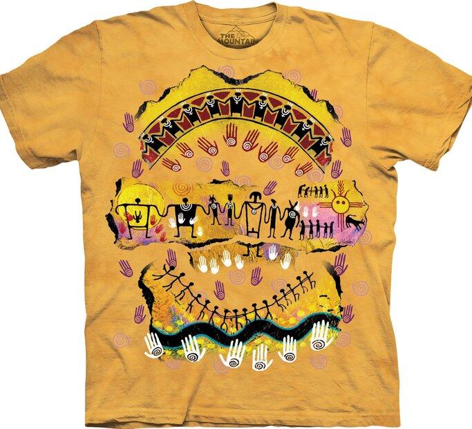 T-Shirt Wir sind alle miteinander verbunden