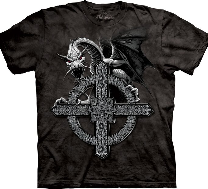 Celtic Cross Dragon Adult