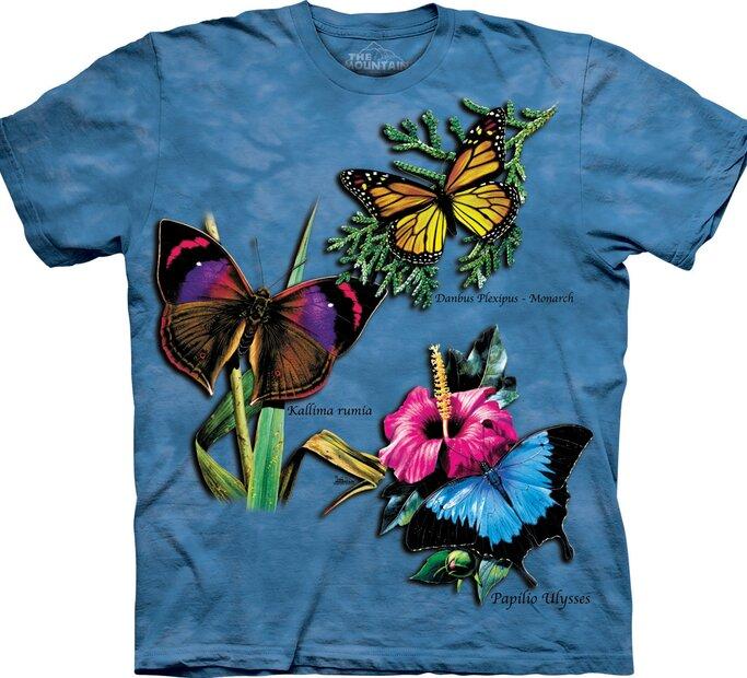 Tričko Koláž křídel
