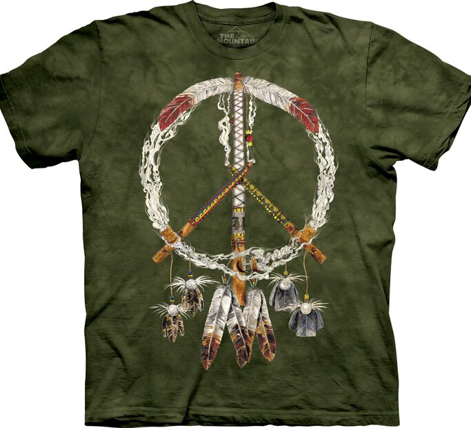 T-Shirt Frieden- und Traumfänger
