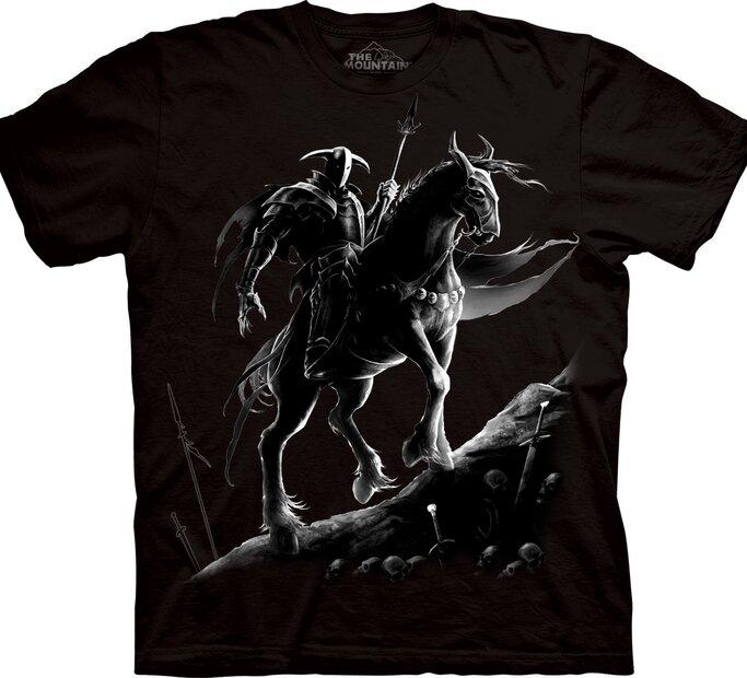 T-Shirt Dunkler Krieger