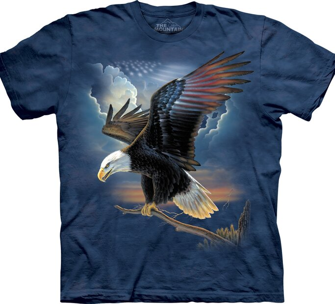 T-Shirt Eagle Take Off