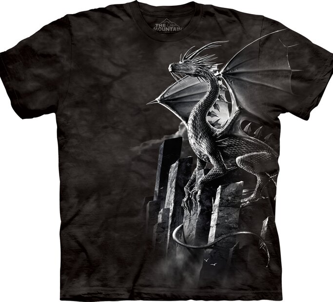 Ezüst sárkány póló