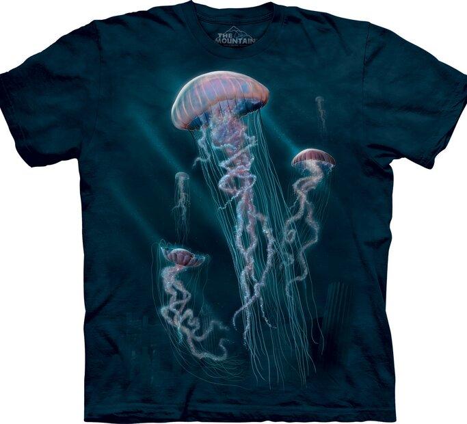T-Shirt Meduse mit Familie