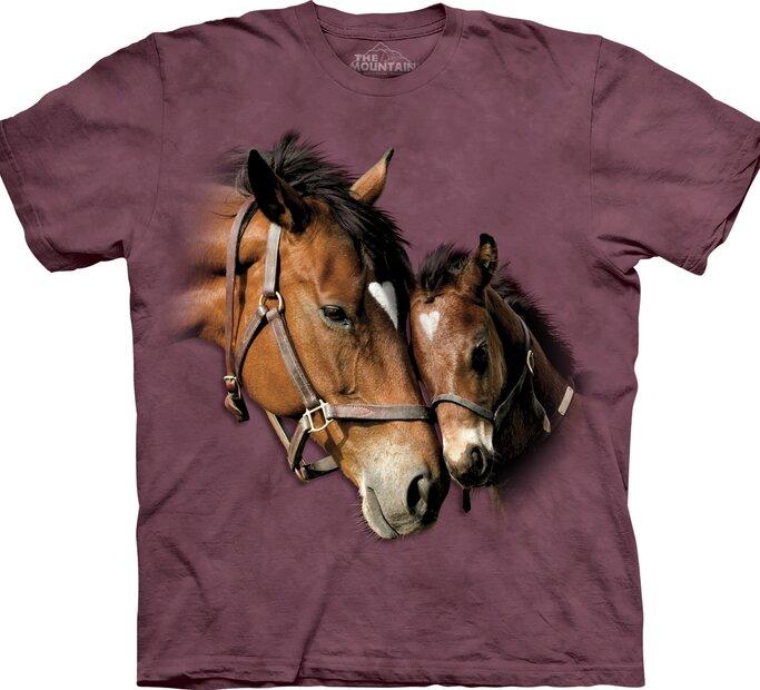 Tričko Milujúce kone