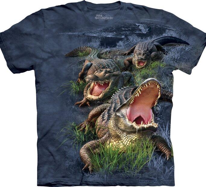 T-Shirt Alligatoren im Morast