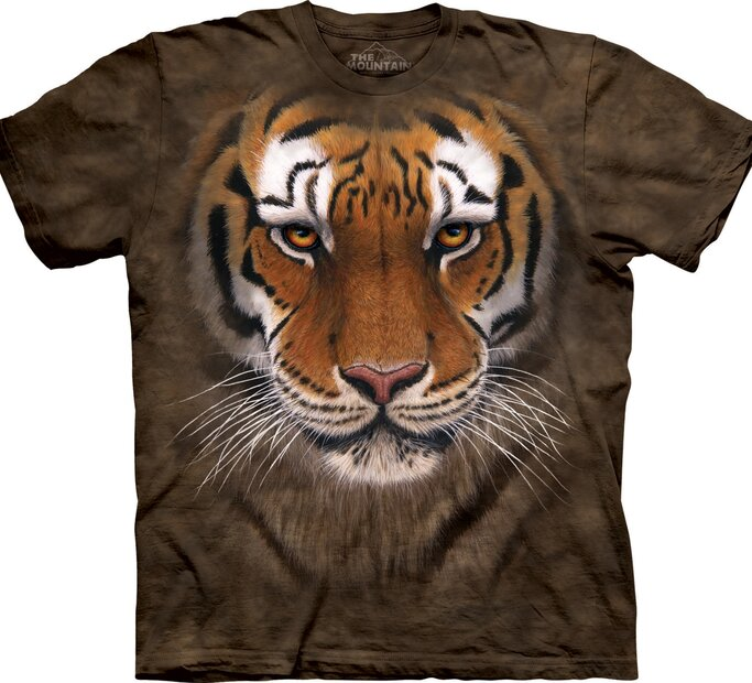 T-Shirt Kämpfer Tiger