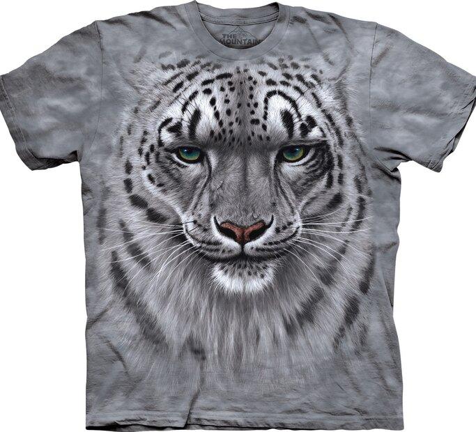 Tričko Obličej sněžného leoparda
