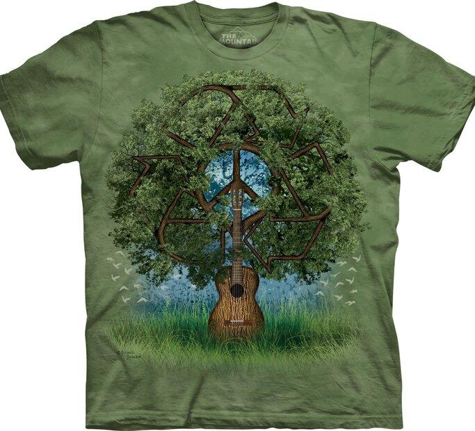 T-Shirt Gitarrenbaum