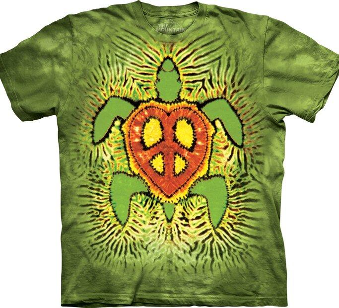 T-Shirt Rasta Peace Turtle